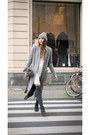 Charcoal-gray-peter-kaiser-boots-white-mango-dress-heather-gray-zara-coat