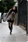 Brown-cardigan-black-shorts-black-house-of-holland-for-pretty-polly-tights-