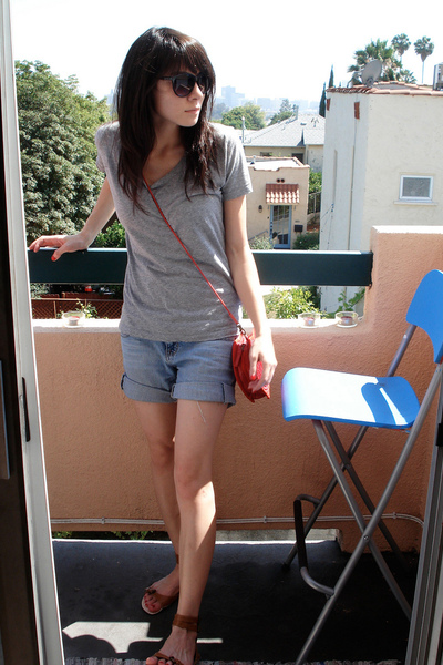 forever 21 shirt - shorts - Urban Outfitters shoes - asos purse