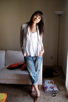 modcloth shoes - delias jeans - Urban Outfitters shirt - Urban Outfitters sweate