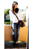 Urban Outfitters purse - American Eagle belt - Urban Outfitters shoes