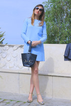 Uterque shoes - Zara dress - Marc by Marc Jacobs sunglasses
