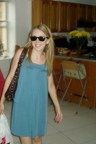 Tart dress - DSW purse - H&M sunglasses - Urban Outfitters earrings