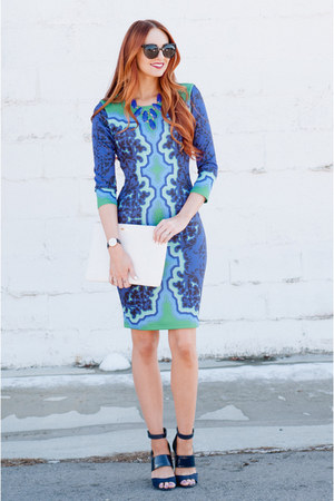 printed dress Hale Bob dress