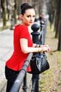 Zara-blouse-zara-sneakers