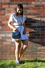 White-vintage-dress-blue-vintage-purse-blue-vintage-keds-shoes-red-vintage