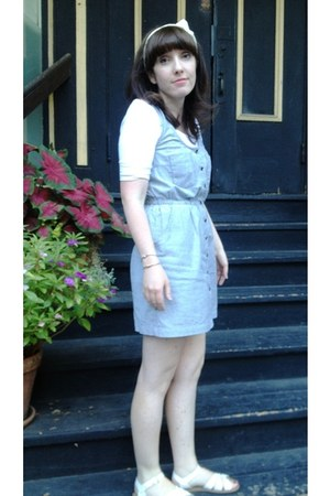 Forever21 dress - Old Navy shirt - modcloth sandals