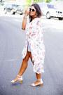 White-cat-eye-sunglasses-light-pink-floral-kimono-la-hearts-cardigan