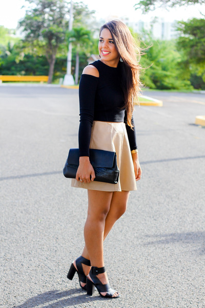 Tan Skirts - How to Wear Tan Skirts - Page 2 | Chictopia
