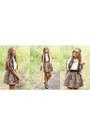 White-zara-top-black-forever-21-shoes-brown-zara-skirt