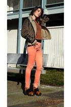 H&M shoes - Sinequanone jacket - H&M sweater - H&M pants