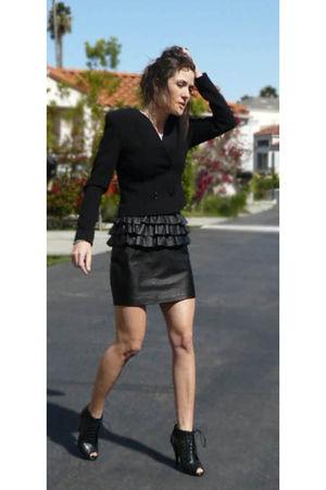 H&M blazer - H&M skirt - H&M shoes