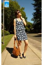 Zara dress - Zara purse - Forever21 shoes - iam necklace - paul&joe sunglasses