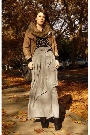 Zara skirt - Zara blouse - Zara jacket - new look shoes - Zara scarf - Lancaster