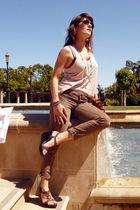 Zara t-shirt - Mango jeans - Minelli shoes - paul & joe sunglasses - iam necklac