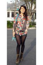 Shirt  H&M shirt - Vest  H&M vest - Shorts  Forever21 shorts - Bag  Little bouti