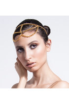 gold head chain FeathersandGlamour accessories