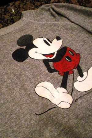 gray Disney sweater