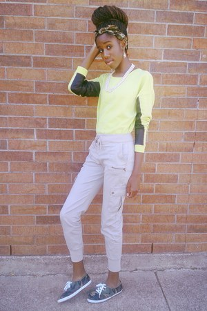 yellow Forever 21 sweater