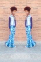 blue Gap vest