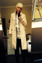 light pink coat Zara coat