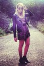 Real-leather-perfecto-zara-jacket-sam-edelman-boots-velvet-free-people-dress