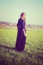 vintage skirt - Zara shirt - jefrey campbell heels