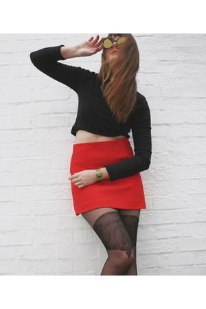 brick red I ike paper accessories