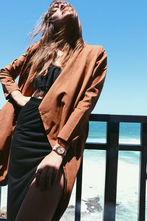 bronze Sheinside coat