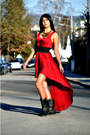 Deichmann-boots-inlovewithfashion-dress-mango-necklace