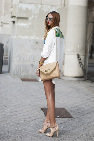 Nude Zara Bag - How to Wear and Where to Buy | Chictopia