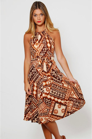 Tapa Designs Hawaii dress