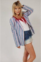 Striped-lotus-vintage-blazer