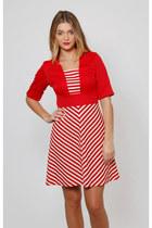 Vintage 60s Nautical Mod Dress