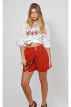 Vera-pelle-skirt