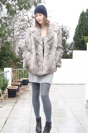coat - Ralph Lauren hat - Deichmann shoes - H&amp;M dress