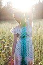 Violet-floral-vintage-dress
