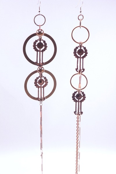 1960s materials LoveIt Jewelry earrings