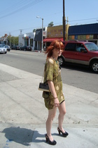 Imonni dress - Dr Scholls shoes - vintage purse - christian dior sunglasses - Un