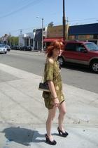 Imonni dress - Dr Scholls shoes - vintage purse - christian dior sunglasses - Un