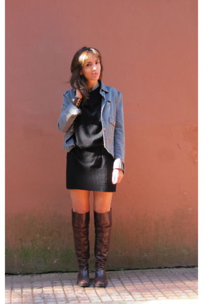 gray jazmin chebar jackets black cher dresses