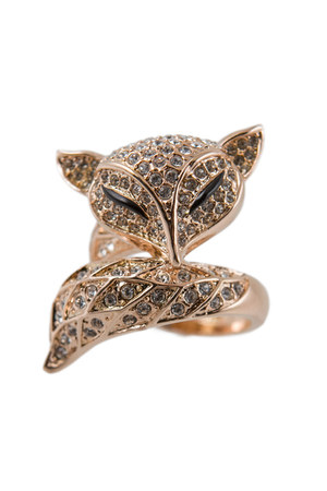 fox ring gold ring