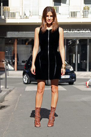 black Azzedine Alaia dress