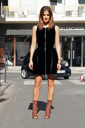black Azzedine Alaia dress