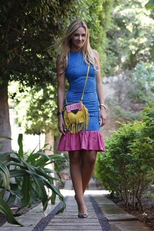 Maria Pino heels - House of Holland dress - Sara Battaglia bag