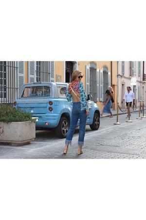 BCBGMAXAZRIA top - 3x1 jeans