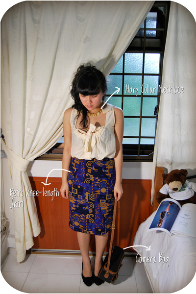 vintage skirt - vintage accessories - vintage accessories