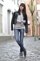 Satorisan sneakers - Zara jeans - Zara jacket - Scotch & Soda sweater