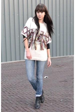 Isabel Marant sweater - Zara jeans