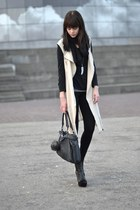 Nowhere vest - asos bag - Nelly heels - fashionology necklace